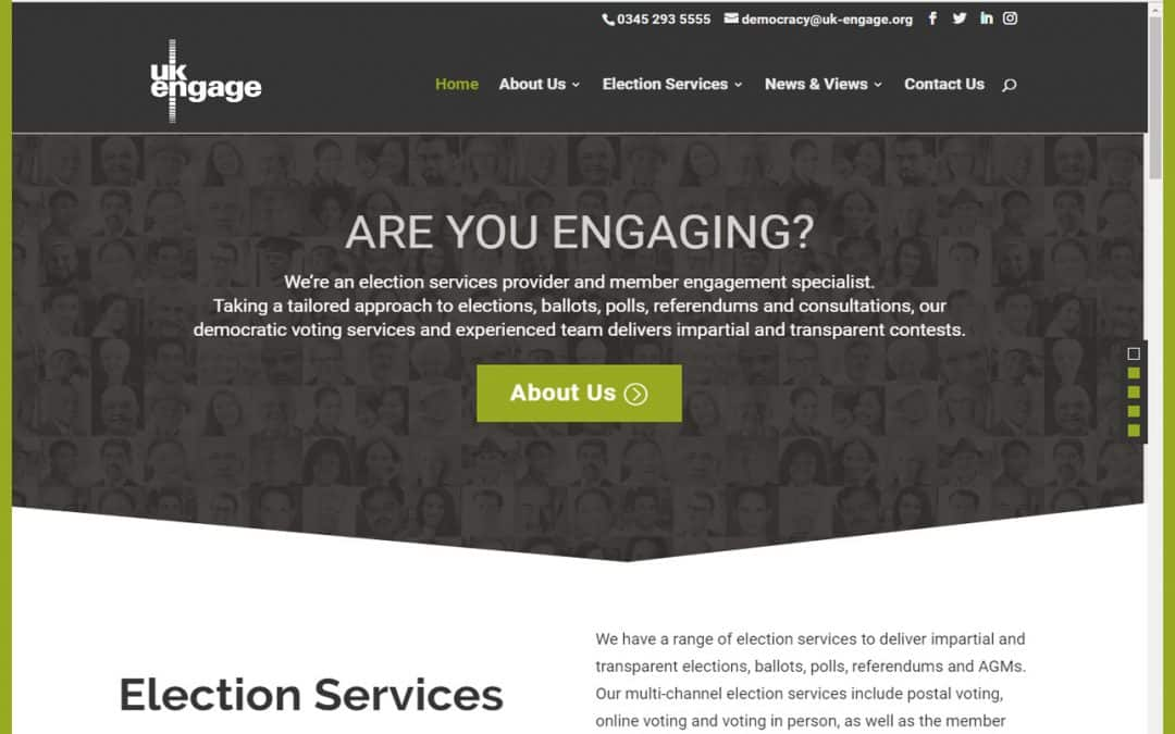 UK Engage launches a new website for election and voting services