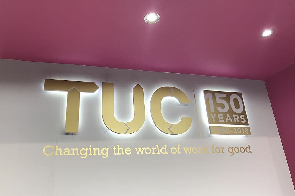 UK Engage exhibits at the TUC Congress 2019