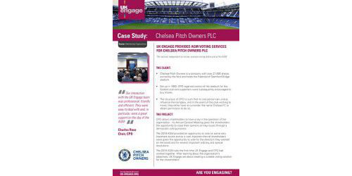 Chelsea Pitch Owners PLC