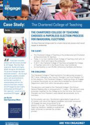 The Chartered College of Teaching