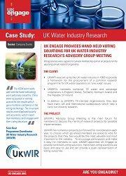 UKWIR Case Study